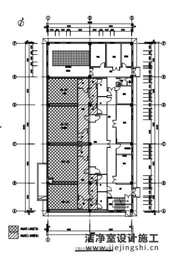 广东深圳p3实验室平面工艺设计图