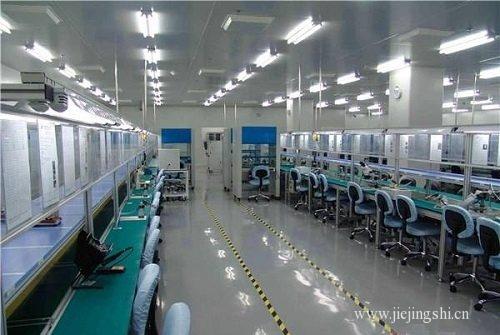 深圳万级电子车间净化装修工程