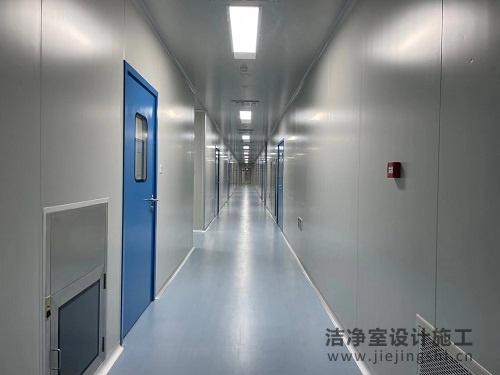 深圳净化车间装修设计现场施工案例