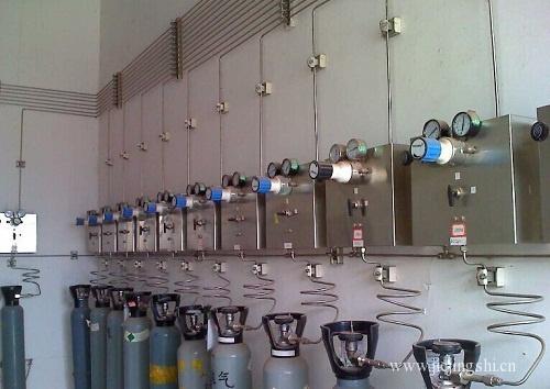 实验室集中供气系统安装